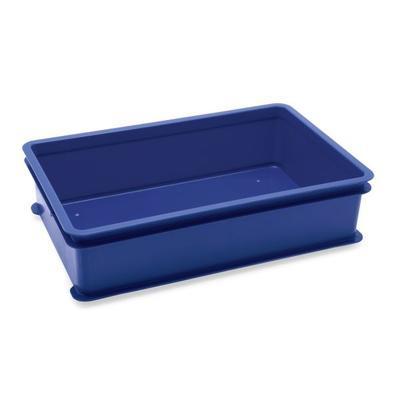 Přepravní a skladovací box modrý, 64,6 x 42 x 2 cm - víko k přepravce - 2
