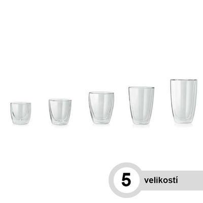 Sklenice na horké nápoje LOUNGE, latte macchiato - 310 ml - 8,3 / 4,8 / 12 cm - 2