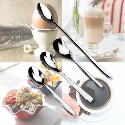 Lžičky na zmrzlinu, vajíčka, latte NP 80, lžička mocca - 11,5 cm - 10 g - 2