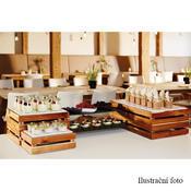Bufetový systém Megabox dřevo, pro GN 1/2 - 350 x 290 x 105 mm - 2/5