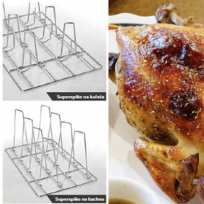 Rošt na kuřata Superspike Rational, 8 kachen - GN 1/1 - 2