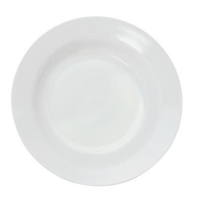 Talíř hluboký bílý melamin, bílá - 20 cm - 2