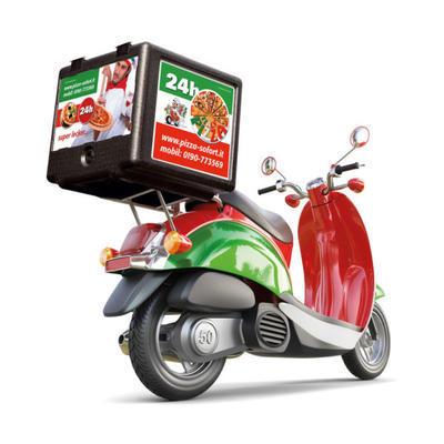 Termobox Pizza Frontloader 100 l - 2