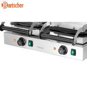 Vaflovač dvojitý tvaru srdce Bartscher, 600 x 470 x 220 mm - 4,4 kW / 2 x 230 V - 31,1 kg - 2/4
