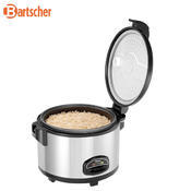 Vařič rýže pro 20-30 osob Bartscher, 440 x 390 x 345 mm - 2 kW / 230 V - 6,8 kg - 2/6
