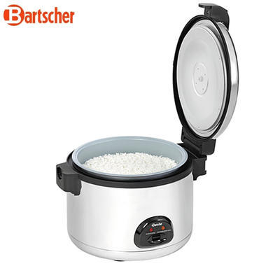Vařič rýže pro 40-60 osob Bartscher, 12 l - 2,85 kW / 230 V - 560 x 465 x  400 mm - 2