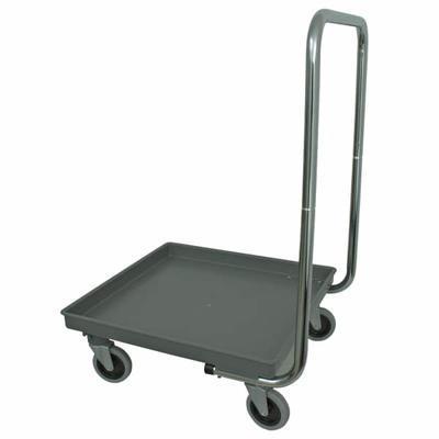 Vozík transportní na koše do myčky, bez držadla - 60 kg - 2