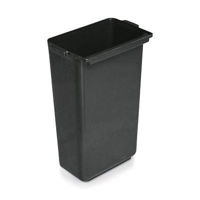 Nádoby pro vozík hliník plast s opláštěním, nádoba nízká - 33 x 23 x 18 cm - 2