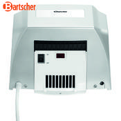 Vysoušeč rukou 1,35 kW Bartscher, 250 x 170 x 240 mm - 1,35 kW / 220-240 V - 3,6 kg - 2/3