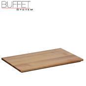 Bufetový modul nerez s deskou uni, nerez - světlý/uni deska - 6,5 cm - 3/3