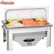 Chafing dish GN 1/1-65 mm Cool and Hot Bartscher, 9 l - GN 1/1-65 mm - 0,7 kW / 230 V - 3/4