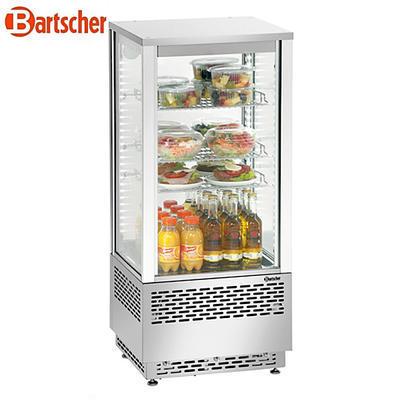 Chladicí mini vitrína 78 l Bartscher nerez, 430 x 390 x 986 mm - 78 l - 0,18 kW / 230 V - 3