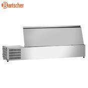 Chladicí nástavba nerez 3x1/3GN a 1x1/2GN Bartscher, 1200 x 400 x 275 mm - 0,166 kW / 230 V - 24,8 kg - 3/3