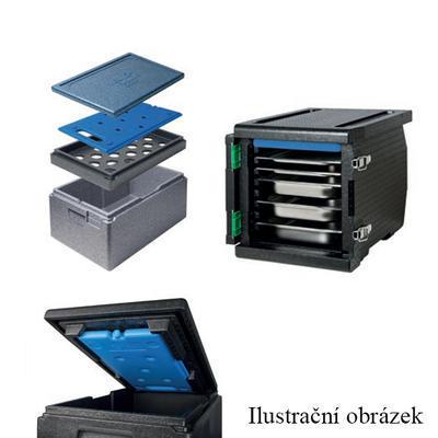 Chladicí udržovací vložka Cool Pack, modrá - -12 °C - 530 x 325 x 25 mm - 3