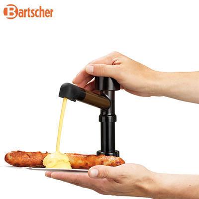 Dávkovač kečupu, hořčice, majonézy 3Ř, 3 x 3,3 l - 394 x 224 x 456 mm - 3