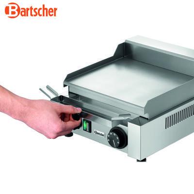 Grilovací deska 260E hladká Bartscher, 304 x 322 x 182 mm - 1,2 kW / 230 V - 9,2 kg - 3