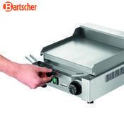 Grilovací deska 260E hladká Bartscher, 304 x 322 x 182 mm - 1,2 kW / 230 V - 9,2 kg - 3/5