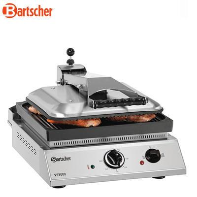 Gril kontaktní výškově nastavitelný Bartscher - 3