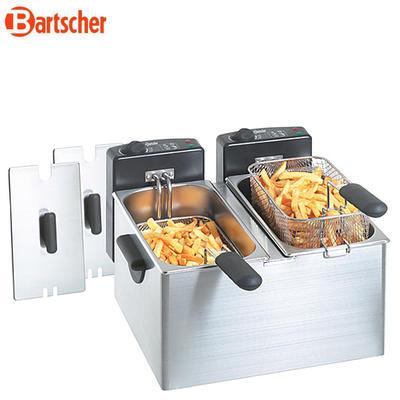 Fritéza stolní objem 2 x 4 l Bartscher MINI III - 3
