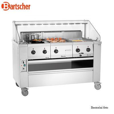 Mobilní front cooking stanice Bartscher - 3