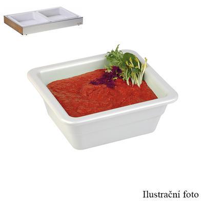 Gastronádoba melaminová hloubka 65 mm, GN 1/2 - 32,5 x 26,5 cm - 3,0 l - 3
