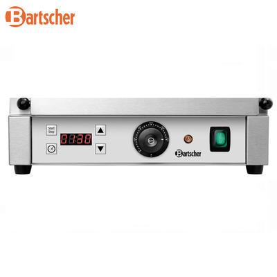 Gril kontaktní Panini 1RDIG Bartscher, 410 x 400 x 200 mm - 2,2 kW / 230 V - 18 kg - 3