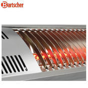 Infrazářič Bartscher 3000 W, 3 kW / 220-240 V - 2,2 kg - 3/4