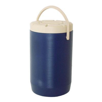 Zásobník na nápoje a pokrmy plastový 12 až 17 l, bez kohoutu/hnědý - 17 l - PR 30 x V 45 vm - 3