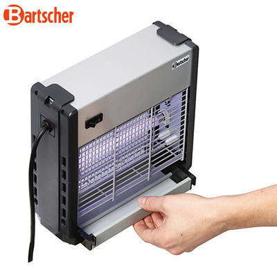 Lapač hmyzu s účinností do 8 m Bartscher, 265 x 95 x 265 mm - 0,024 kW / 230 V - 2,1 kg - 3