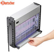 Lapač hmyzu s účinností do 10 m Bartscher, 390 x 95 x 305 mm - 0,033 kW / 230 V - 2,84 kg - 3/3