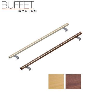 Bufetový modul 1/1 chlazený s břidlicí s rolltopem, tmavý buk - 13 cm - 3