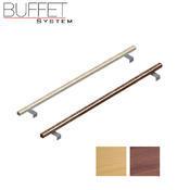 Bufetový modul 1/1 chlazený s břidlicí s rolltopem, tmavý buk - 13 cm - 3/3
