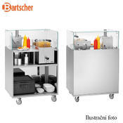 Boční tabule pro stánek Snackpoint Bartscher, 300 x 6 x 195 mm - 3/3