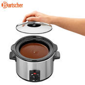 Ohřívač čokolády 1,25 l Bartscher, 230 x 220 x 200 mm - 1,25 l - 0,12 kW / 230 V - 3/4