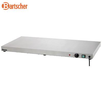 Ohřívací nerezová deska Bartscher, 1000 x 500 x 64 mm - 0,6 kW / 230 V - 16 kg - 3