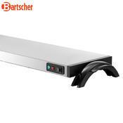 Ohřívací nerezová deska WP1200 Bartscher, 730 x 215 x 62 mm - 1,2 kW / 220-240 V - 4,0 kg - 3/3