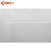 Potah na pivní set 1830 bílý Bartscher, na 1 stul a 2 lavice - 1850 x 290 x 440 mm - 3/3