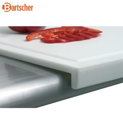 Prkno krájecí 570 x 370 mm Bartscher, 57 x 37 x 3 cm - bílá - 3