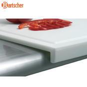 Prkno krájecí 570 x 370 mm Bartscher, 57 x 37 x 3 cm - bílá - 3/3