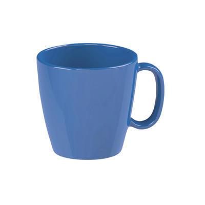 Šálek dětský s uchem barevný, modrá - 0,23 l - 3