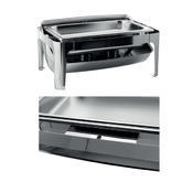 Chafing dish GN 1/1-65 mm s rolltopem kombi, GN 1/1-65 mm - 500W topení - 67 x 41 x 44 cm - 3/3