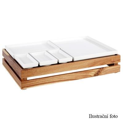 Bufetový systém Megabox dřevo, pro GN 1/2 - 350 x 290 x 105 mm - 3