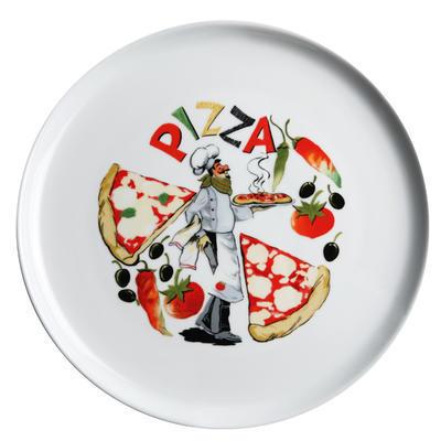Talíř na pizzu s motivem, 30 cm - kuchař - 3