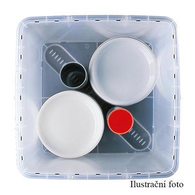 Stohovatelný přepravní box 32 litrů, box 32 l - 40 x 40 x 31,5 cm - 3