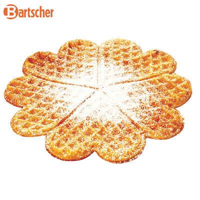 Vaflovač tvaru srdce Bartscher, 285 x 470 x 225 mm - 2,2 kW / 230 V - 15,35 kg - 3