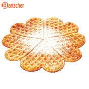 Vaflovač tvaru srdce Bartscher, 285 x 470 x 225 mm - 2,2 kW / 230 V - 15,35 kg - 3/3