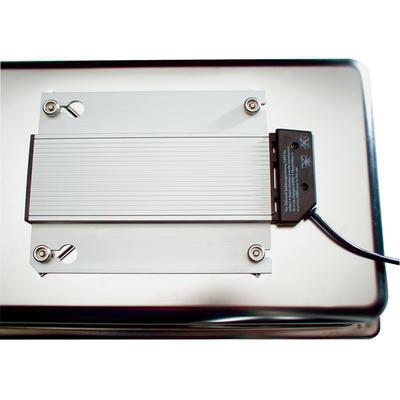 Bufetový modul pro teplé pokrmy nerez, teplý modul nerez - 20 cm - 57 x 36 cm - 3