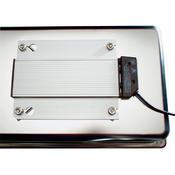 Bufetový modul pro teplé pokrmy nerez, teplý modul nerez - 20 cm - 57 x 36 cm - 3/4