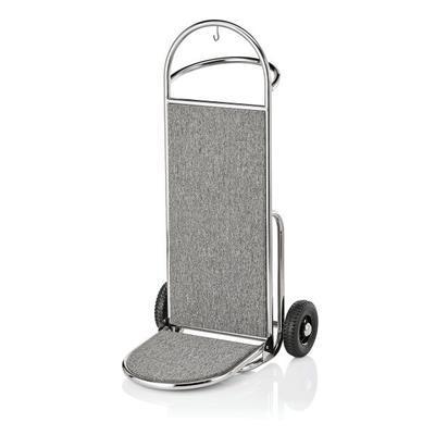 Recepční vozík Suite, zlatá - bordó - 61 x 70,5 x 121 cm - 3