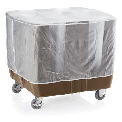 Vozík na nádobí hnědý, 110 x 73 x 78 cm - 3